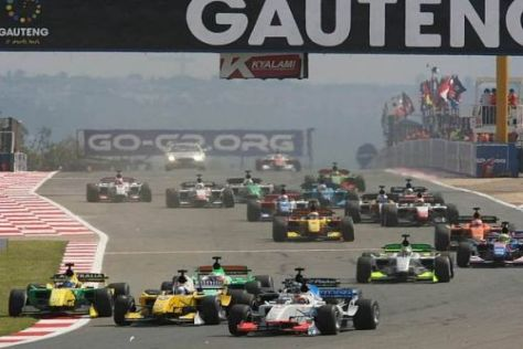 Die A1GP kam nach Kyalami - die Formel 1 wird aber nicht nach Südafrika reisen
