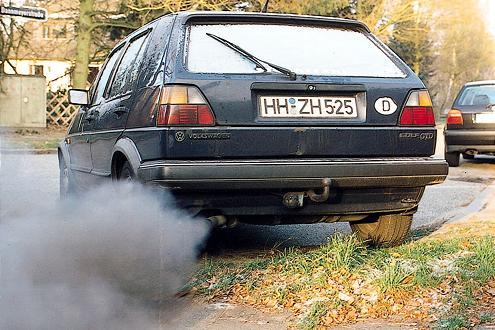 Dreckschleuder Diesel? Heutzutage dank Rußfilter nicht mehr.