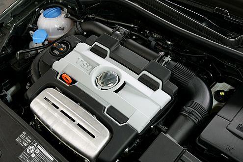 Stark wie ein großer Benziner, sparsam wie ein kleiner Diesel: VW TSI.