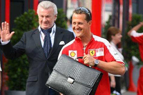 Späteres Comeback? Michael Schumacher