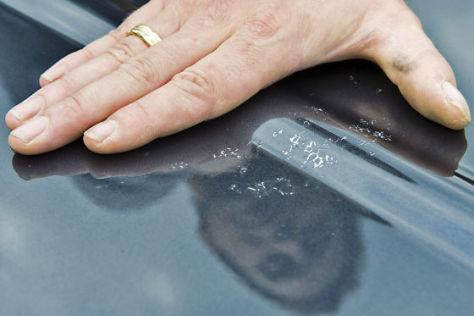 Fertigungsmängel: Bei Dacia ist der Lack ab.