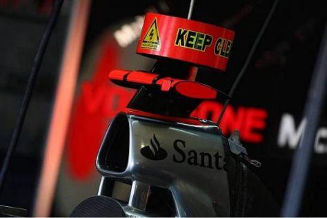 McLaren-Mercedes ist schon seit dem Saisonbeginn 2009 mit KERS unterwegs