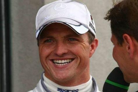 Ralf Schumacher hofft, dass es in dieser Saison noch zum Podiumsplatz reicht