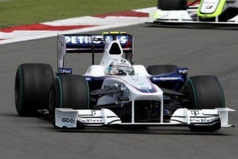 Das BMW Sauber F1 Team will noch einmal sein Können unter Beweis stellen