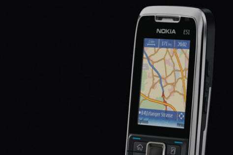 Mobile Navigation bei Ford