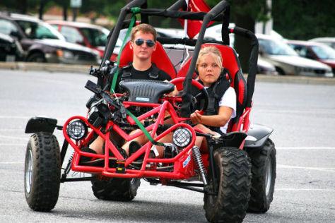 Erstes Auto für Blinde