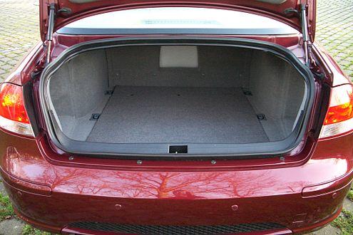 550 Liter Kofferraum: Hier haben die Chinesen nicht gespart.