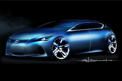 Lexus Kompaktstudie IAA 2009