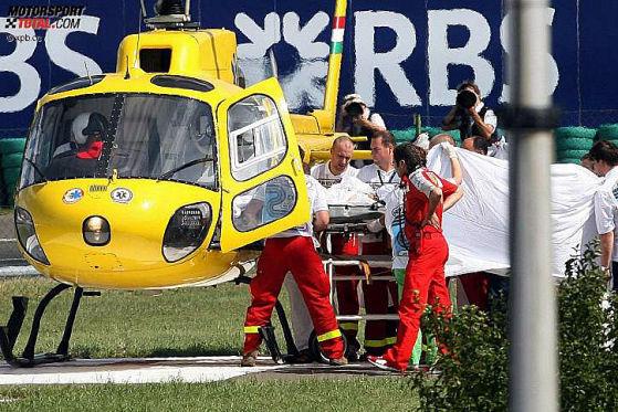 Felipe Massa Unfall beim GP von Ungarn