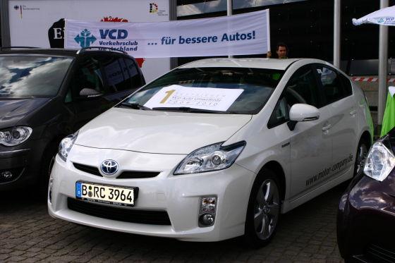 Platz 1 der Auto-Umweltliste: Toyota Prius III