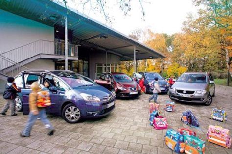 Vergleichstest VW Touran