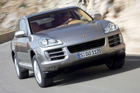 Modellpflege Porsche Cayenne