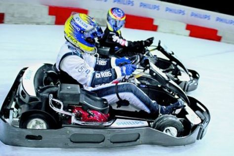 "Nico Rosberg beim ""Philips Ice Race"""