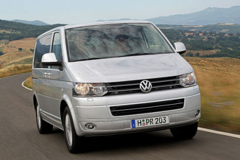 VW T5 Facelift 2009