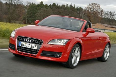 Audi TT Roadster im Test