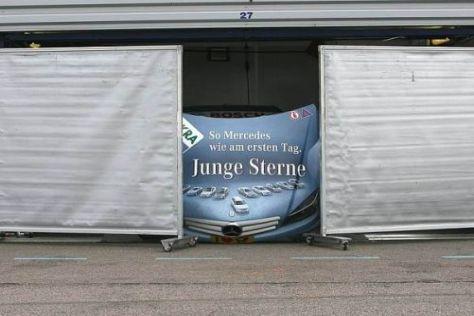 Jamie Greens Auto ist eines von vieren, die derzeit komplett zerlegt werden