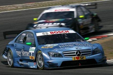 Jamie Green fuhr als bester Mercedes-Pilot auf Rang fünf