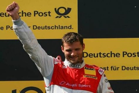 Martin Tomczyk durfte in der Eifel wieder ganz oben auf dem Podium feiern