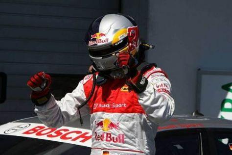 Martin Tomczyk durfte jubeln: Endlich steht er wieder auf der Pole-Position