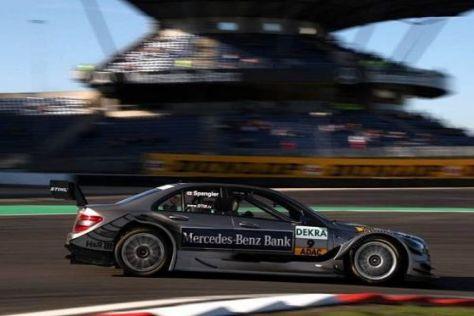Bruno Spengler und sein Team machten das Beste aus den Bedingungen: P2