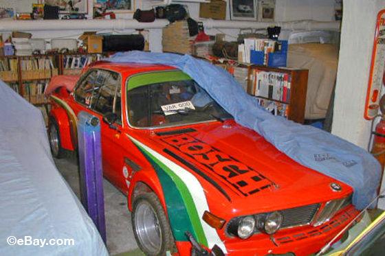 Wagenpass BMW 3.0 CS/CSL FIA Gruppe 2