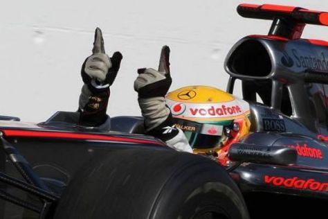 Lewis Hamilton wittert Morgenluft: Der Trend zeigt klar nach oben!