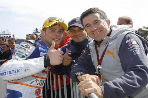 Alvaro Bautista und Jorge Martinez haben schon 2007 erfolgreiche Zeiten erlebt
