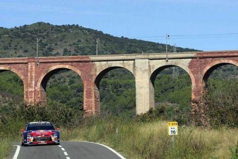 Unter dem Aquädukt: In Spanien gibt es eine Neuerung beim WRC-Shakedown
