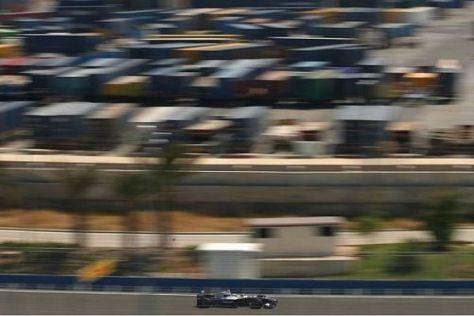 Nico Rosberg mischte in beiden Trainingseinheiten vorne mit