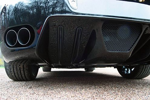 Soundmäßig muss sich der Sachse nicht vor einem Veyron verstecken.
