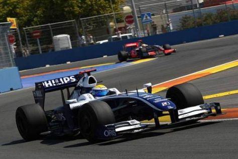 Nico Rosberg konnte erneut in die WM-Punkte fahren