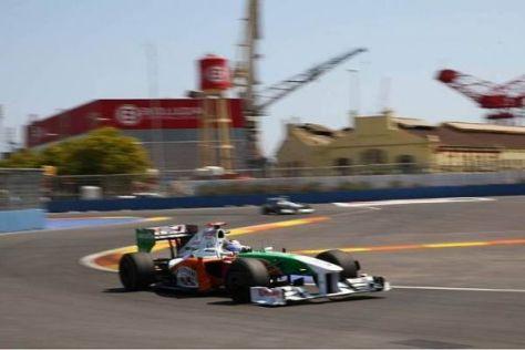 Adrian Sutil: Zwei Positionen fehlen noch bis in die Punkte