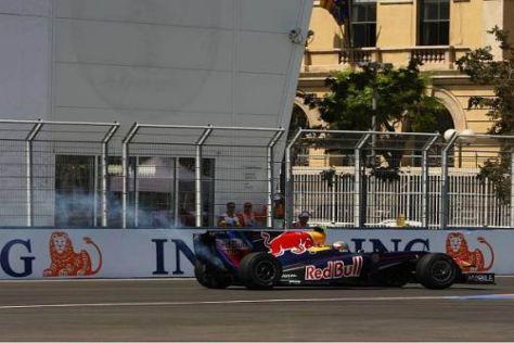 Sebastian Vettel klebte am Wochenende das Pech an den Fersen