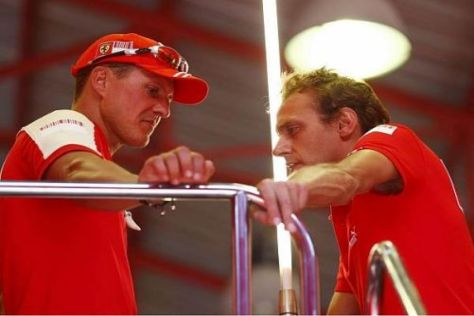 Ratschläge für Luca Badoer: Michael Schumacher übt keine Kritik