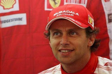 Living the Dream: Luca Badoer schwebt als Ferrari-Fahrer auf Wolke sieben