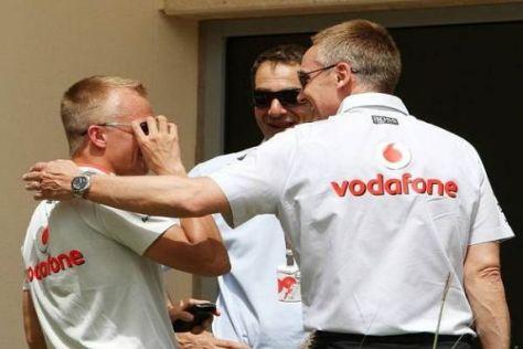 Heikki Kovalainen ist in der Gunst von Martin Whitmarsh gestiegen