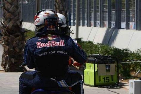 Die WM-Chancen von Sebastian Vettel schwinden auch wegen Renault dahin