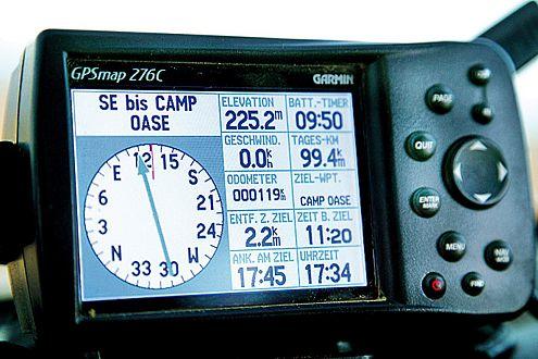 Lotse: Ans Ziel kommen mit GPS.