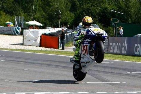 Valentino Rossi hat 50 Punkte Vorsprung im Kampf um die Weltmeisterschaft