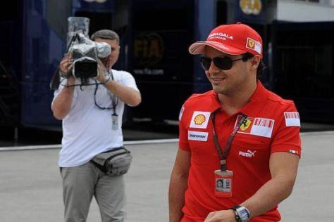 Den Grand Prix von Europa hat Felipe Massa nur im TV gesehen