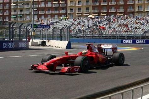 Luca Badoer muss sich in Belgien steigern, sonst droht die Ablösung bei Ferrari