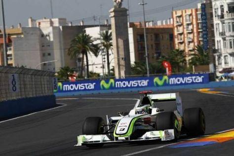 Jenson Button führt die Fahrerwertung schon seit dem ersten Rennen 2009 an