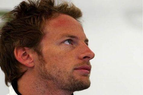Jenson Button hat seit Silverstone nur noch wenige Punkte geholt
