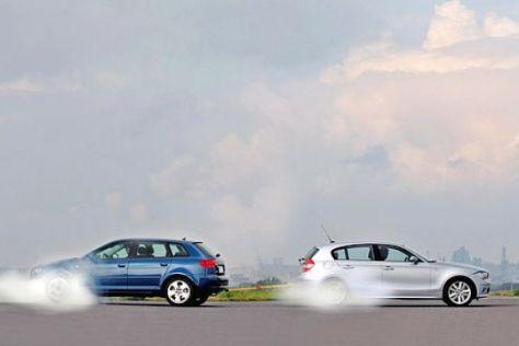 Test Audi A3 Sportback gegen BMW 120d