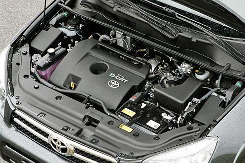 Der 2,2-Liter des Toyota ist mit 177 PS das stärkste Aggregat im Test.