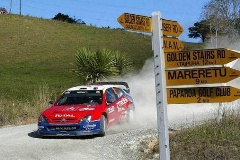 Die Rallye Neuseeland wird ab 2010 wieder rund um Auckland ausgetragen