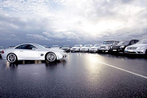 Da braut sich was zusammen: 16 AMG-Modelle treten zum Vergleich an.