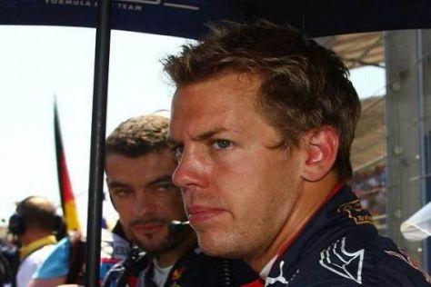 Sebastian Vettel hat den Titelgewinn weiterhin fest im Visier
