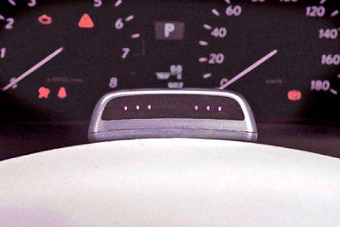 Big Brother: Infrarot-Sensoren kontrollieren, wo der Fahrer hinblickt.