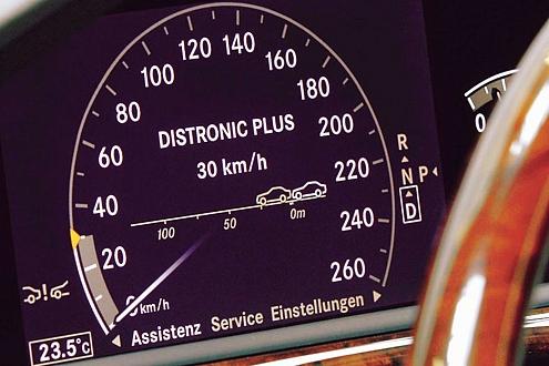 Distronic Plus: So heißt der Abstandsregeltempomat bei Mercedes.